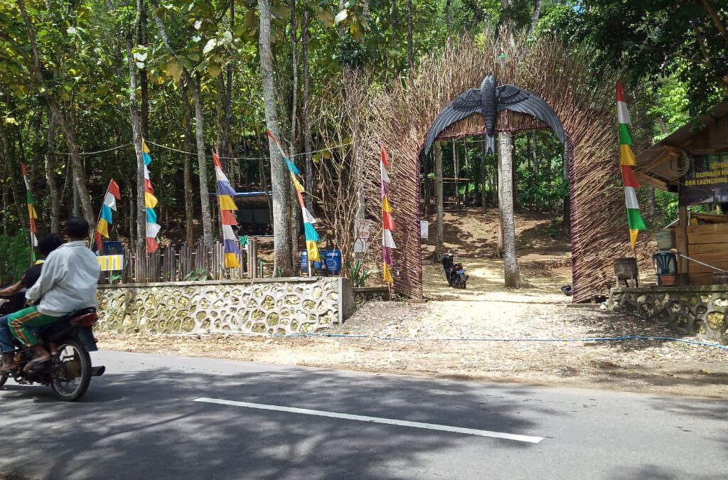 Land Mark Baru, Percantik Goa Darma